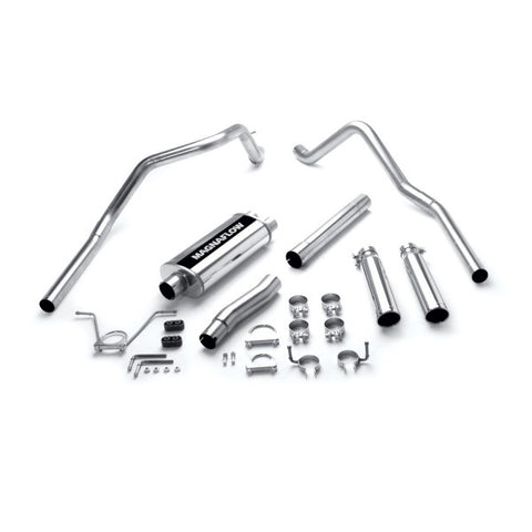 Magnaflow Stainless Steel Cat-Back Exhaust Systems - Dual Split Rear Exit 15736