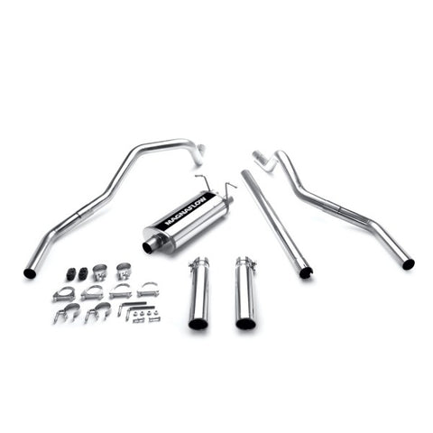 Magnaflow Stainless Steel Cat-Back Exhaust Systems - Dual Split Rear Exit 15749