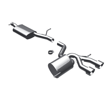 Magnaflow Stainless Steel Cat-Back Exhaust - Dual Center Rear Exit 16501 MA16501