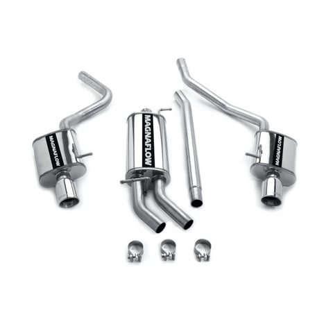 Magnaflow Stainless Steel Cat-Back Exhaust - Dual Split Rear Exit 16600 MA16600
