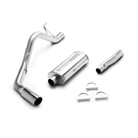 Magnaflow Stainless Steel Cat-Back Exhaust - Single Passenger Side Rear Exit 166