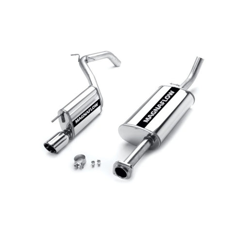 Magnaflow Stainless Steel Cat-Back Exhaust - Single Straight Passenger Side Rear