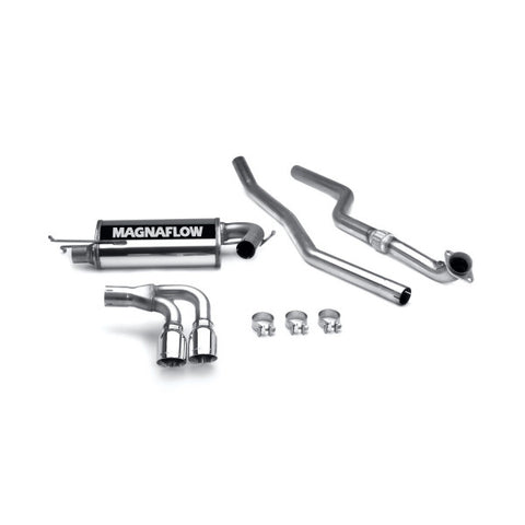 Magnaflow Stainless Steel Cat-Back Exhaust - Dual Split Rear Exit 16647 MA16647
