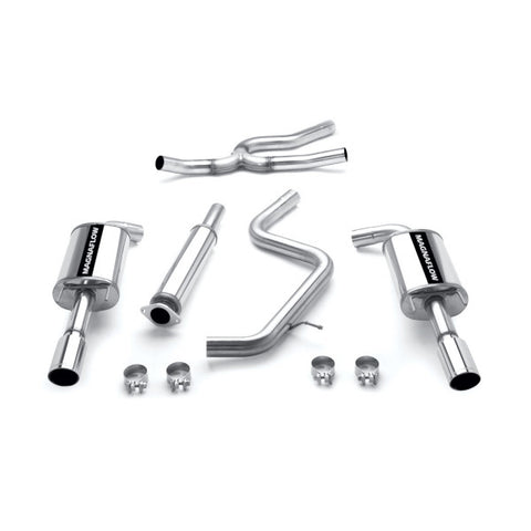 Magnaflow Stainless Steel Cat-Back Exhaust - Dual Split Rear Exit 16708 MA16708
