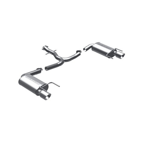 Magnaflow Stainless Steel Cat-Back Exhaust - Dual Split Rear Exit 16764 MA16764