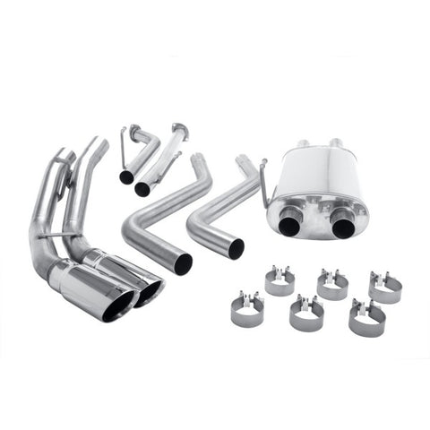 Magnaflow Stainless Steel Cat-Back Exhaust - Dual Same Side Behind Rear Tire 167