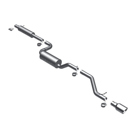 Magnaflow Stainless Steel Cat-Back Exhaust - Single Rear Exit 16786 MA16786