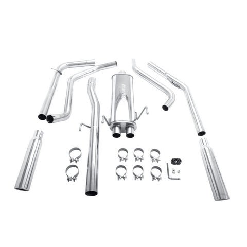 Magnaflow Stainless Steel Cat-Back Exhaust - Dual Split Rear Exit 16851 MA16851