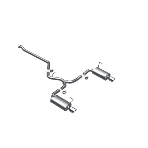 Magnaflow Stainless Steel Cat-Back Exhaust - Dual Split Rear Exit 16856 MA16856