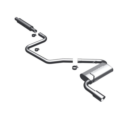 Magnaflow Stainless Steel Cat-Back Exhaust - Single Rear Exit 16876 MA16876