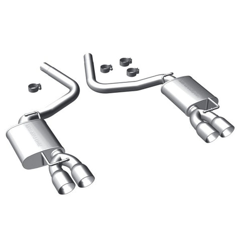 Magnaflow Stainless Steel Cat-Back Exhaust - Quad Tip Rear Exit 16893 MA16893