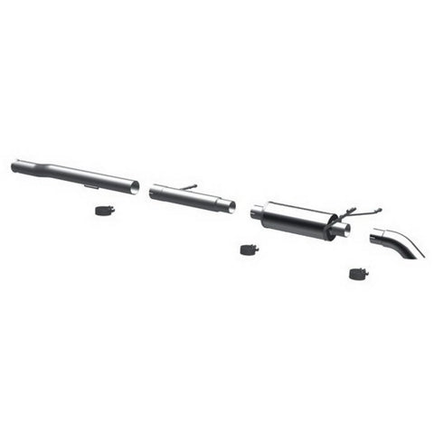 Magnaflow Off Road Pro Series Cat-Back Exhaust - Turn Down in Front of Rear Tire