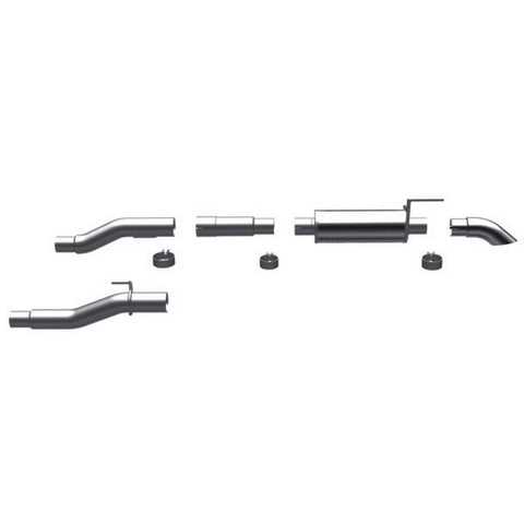 Magnaflow Stainless Steel Cat-Back Exhaust - Single Side In Front Of Rear Tire E