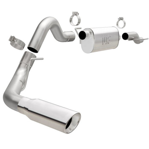 Magnaflow Ford F-150 V8 Stainless Steel Cat-Back Exhaust - Single Passenger Side