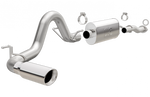 2016-2018 Toyota Tacoma Exhaust - (3in Cat Back w/ Polished Tips) [3.5L] - Magnaflow 19291