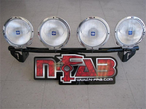 N-Fab Light Bars - Textured Black D045LB-TX NFABD045LB-TX