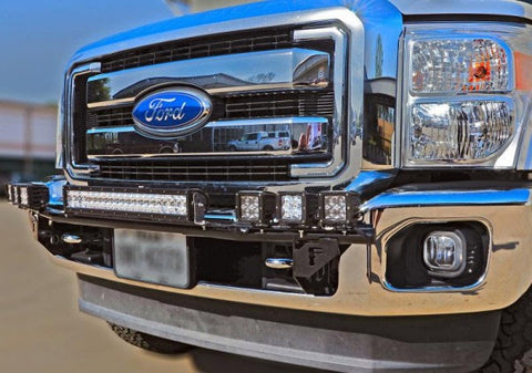 N-Fab Light Bars - Gloss Black T0830LD NFABT0830LD