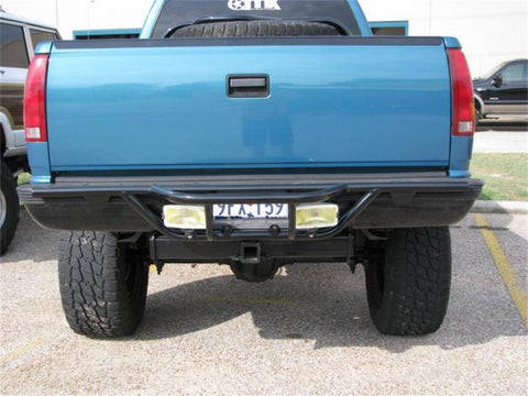 N-Fab Rear Runner Bars - Black Powder Coated C88RR NFC88RR