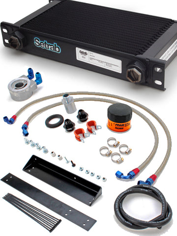 2012-2019 Nissan 370Z [Z34] SETRAB Oil Cooler Kit [Street] - 400760