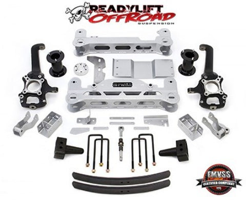 "ReadyLift 2014 Ford F-150 4WD Off-Road 6"" Lift Kit 44-2464 PAG442464"