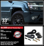 ReadyLift Suspension Leveling Kit 66-3000 PAG663000