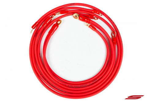 STILLEN Grounding Kit - Red Wires 606340R