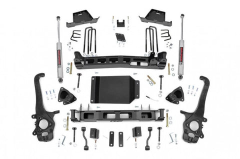2004-2015 Nissan Titan Lift Kit - 2WD/4WD (N3 Shocks) [6in] - Rough Country 875.20