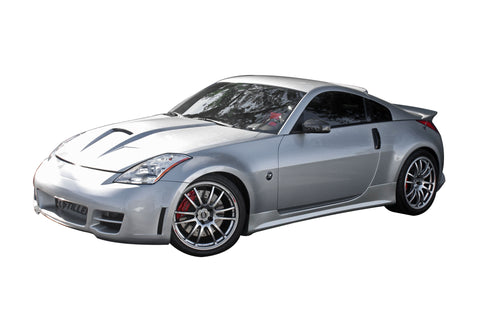 2003-2008 Nissan 350Z [Z33] 4pc Body Kit [Series 2 Skirts w/ Series 2 Front Fascia] - 1035010KT2