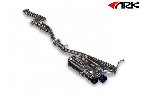 ARK 2008-2012 BMW 135i DT-S Exhaust System w/ Burnt Tips SM0301-0020D
