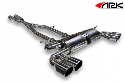 ARK Hyundai Genesis Coupe 3.8L DT-S Exhaust System w/ Polished Tips SM0702-0103D
