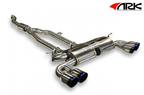 ARK Hyundai Genesis Coupe 2.0L DT-S Exhaust System w/ Burnt Tips SM0702-0202D