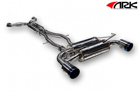 ARK Nissan 370Z DT-S Exhaust System w/ Burnt Tips SM0901-0209D