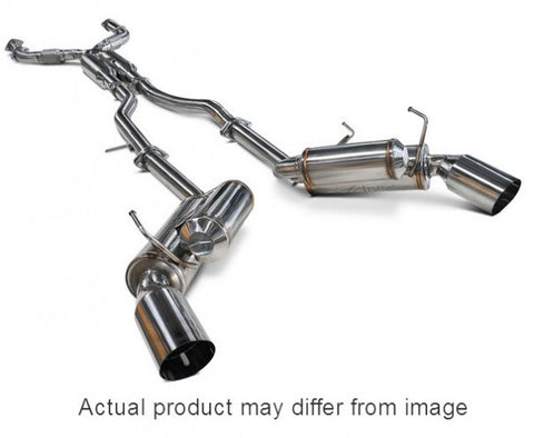ARK Infiniti Q50 Grip Exhaust System w/ Polished Tips SM1106-0107G