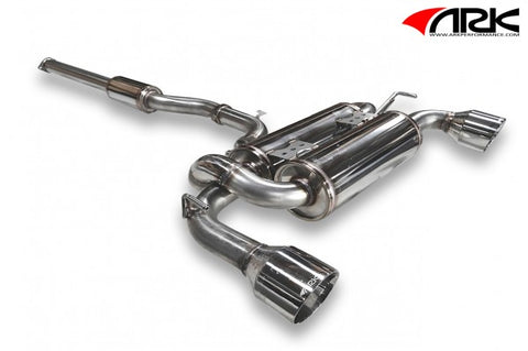 ARK Mitsubishi Evolution X DT-S Exhaust System w/ Polished Tips SM1801-0103D