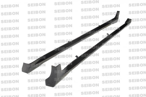 Seibon NS Style Carbon Fiber Side Skirts SS0809INFG374D-NS