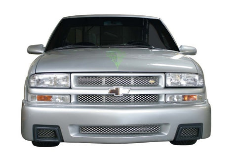 Street Scene Speed Grille Inserts - Brushed Style w/ Rectangular Headlights 950-