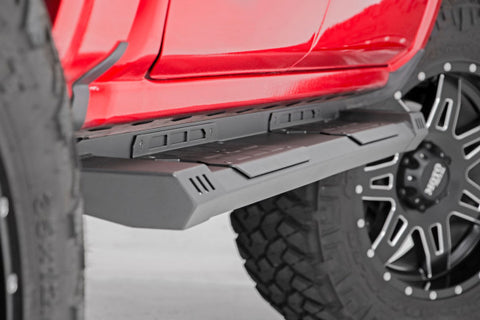 2004-2017 Nissan Titan Running Boards 2WD/4WD (Crew Cab Only) [HD2] - SRB041785