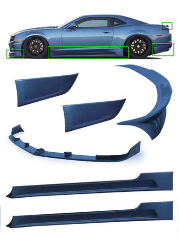 2010-2013 Chevy Camaro 6-Piece Body Kit - KB51100KT