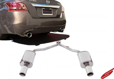 2007-2012 Nissan Altima 3.5 Sedan Stainless Steel Cat-Back Exhaust System - 508250
