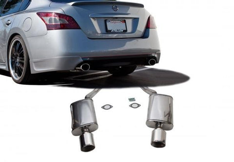 2009-2015 Nissan Maxima Stainless Steel Rear Section Exhaust System - 504397