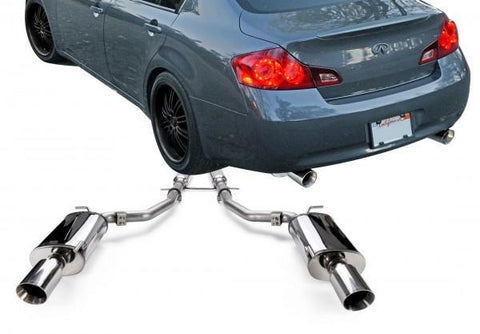 2009-2013 Infiniti G37 Sedan, 2015 Q40 Stainless Steel Cat-Back Exhaust System - 504377