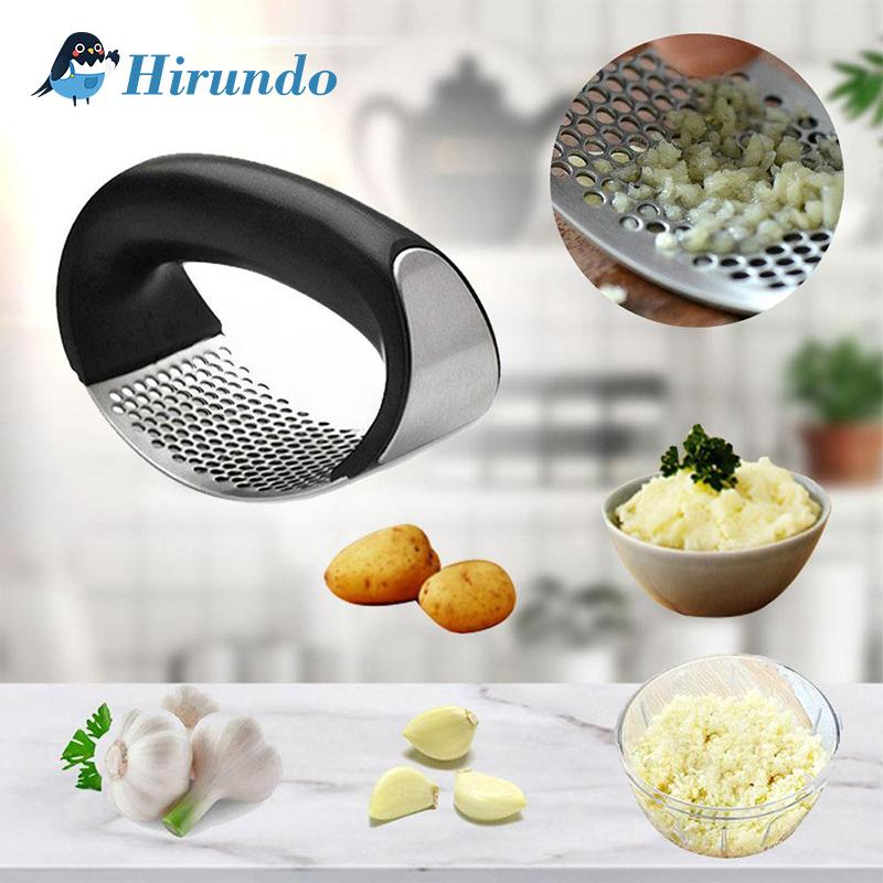 Hirundo® Premium Stainless Steel Garlic Press
