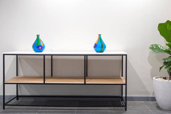 Rectilinear Console Table