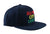 ACL Rasta Embroidered Black Hat
