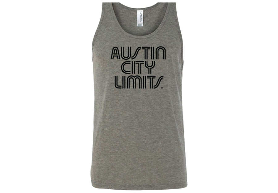 ACL Adult Black on Gray Tank