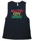 ACL Womens Rasta Heather Black Tank