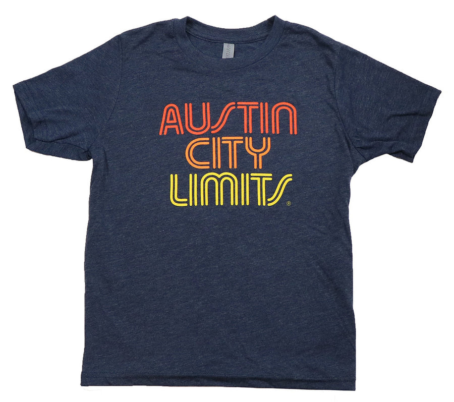 "ACL Youth ""Sunset"" Vint. Navy Shirt"