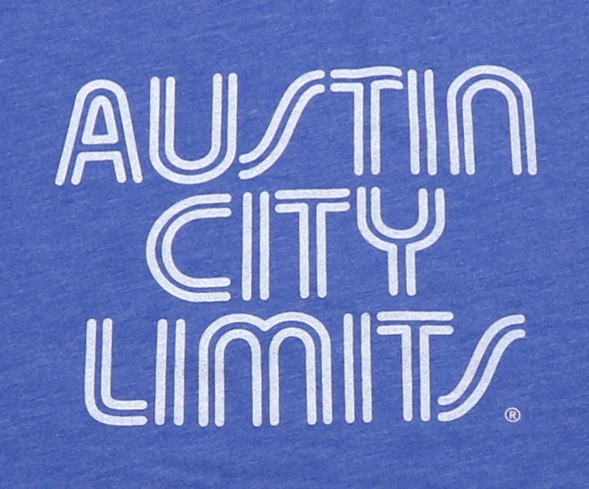 ACL Onesie White on Vint. Blue Shirt