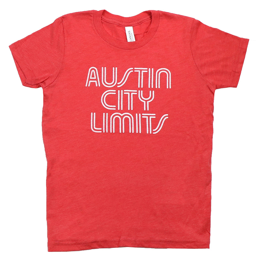 ACL Youth White on Vint. Red Shirt