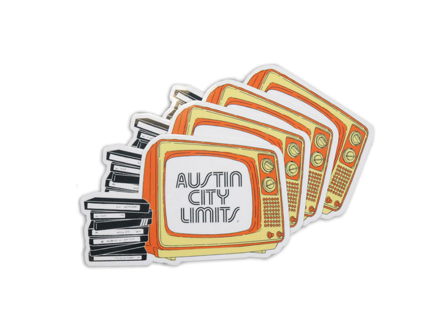 Austin City Limits Retro Sticker